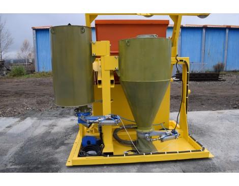Блок дозаторов РБ-15 (воды и цемента)